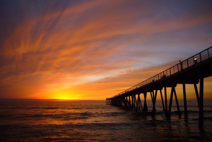 Hermosa Beach Pier CA